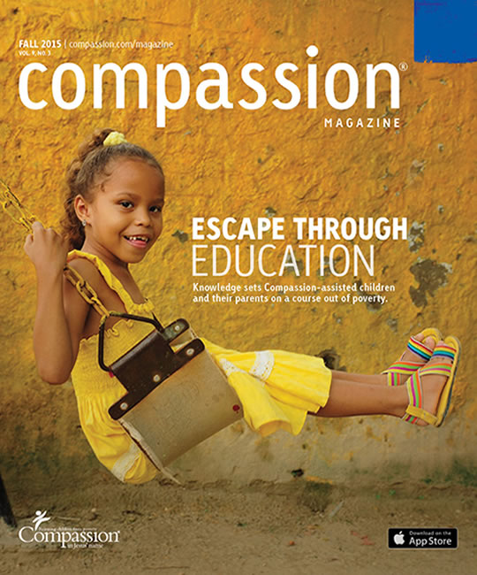 Compassion Magazine Fall 2015 Cover