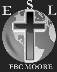 ESL logo Inverted Greyscale